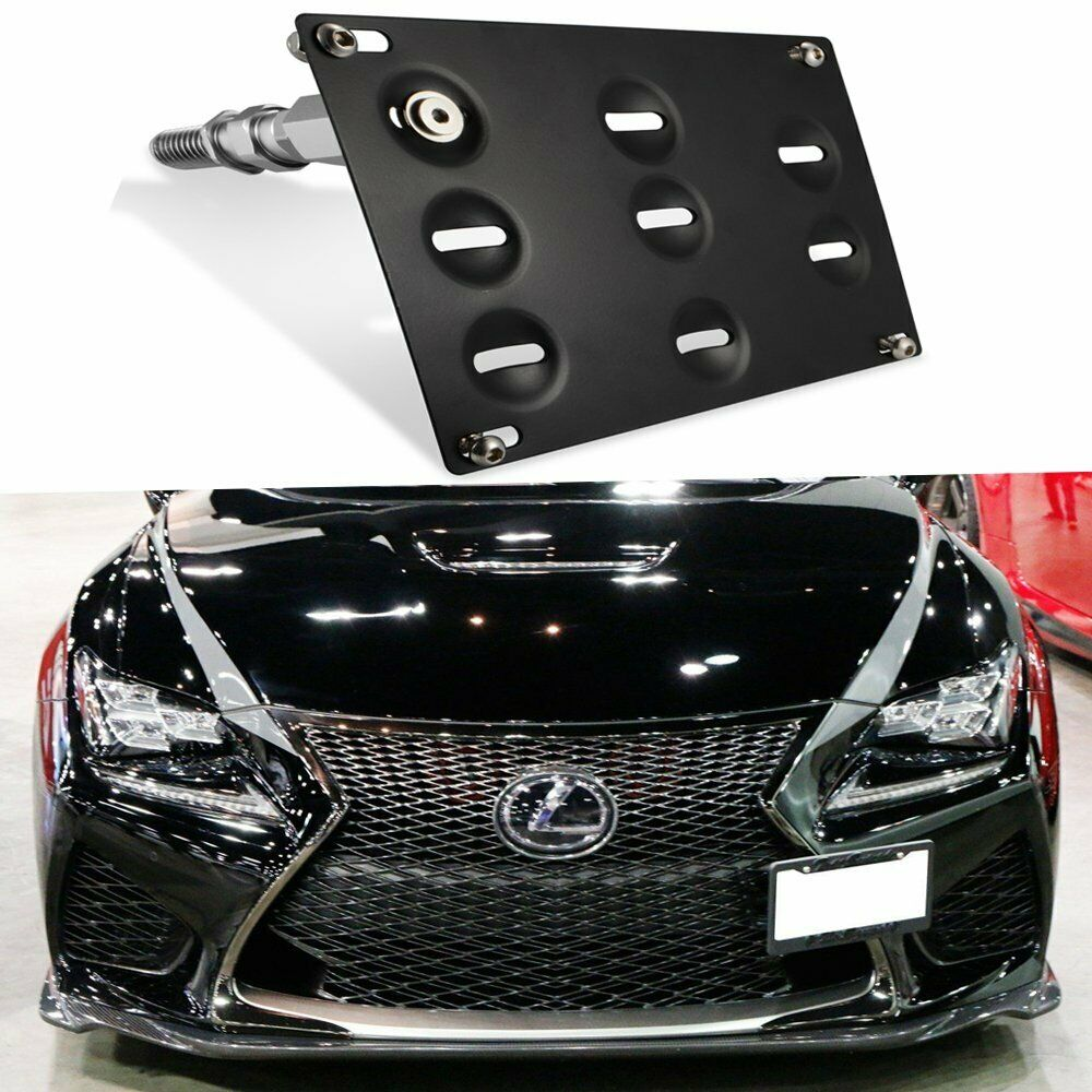 Tow Hook License Plate Mount Bracket For Lexus Is250 Is350 Is F Ct