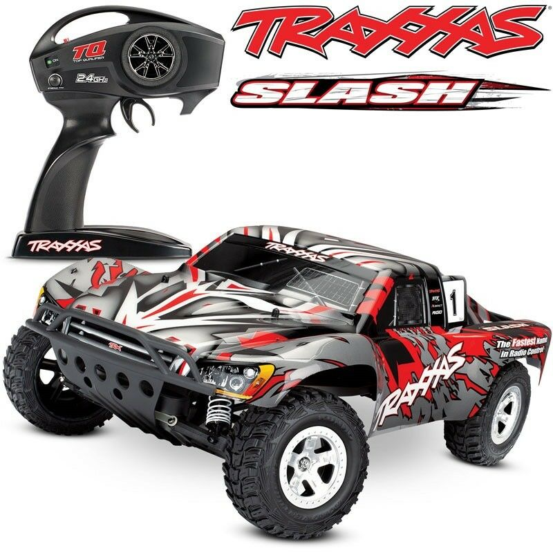 Details About New Traas Slash Xl 5 2wd Red W Tq 2 4ghz Short Course Electric Rc Truck 58024
