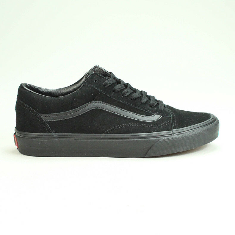 Vans Old Skool Suede Trainers Shoes New in box in Blackout UK Size 3 7019c215f
