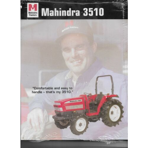 original-oe-mahindra-model-3510-tractor-sales-brochure-spec-specifications-sheet