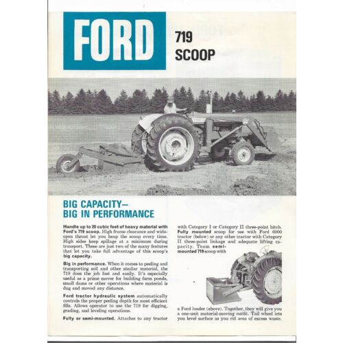 original-ford-719-tractor-scoop-specifications-sales-brochure-no-ad1005-96620