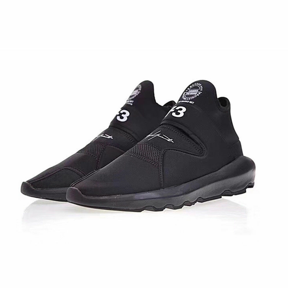 e7c17c32e56 Details about NEW Y3 Suberou Yohji Yamamoto Sneakers Men s Black Boost  Triple Trainers Shoes