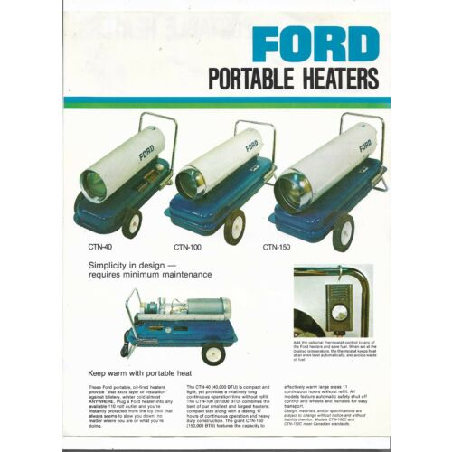 original-ford-portable-heaters-ctn40-ctn100-ctn150-specifications-sales-brochure