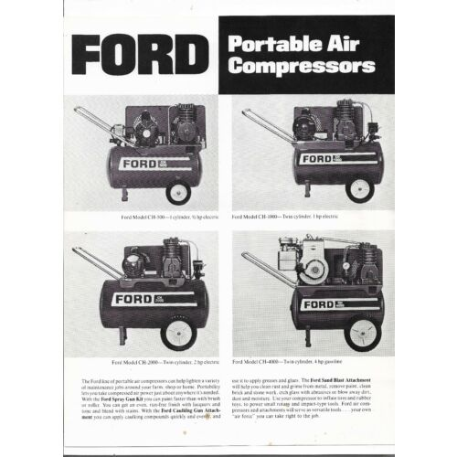 ford-portable-air-compressors-ch500-1000-2000-4000-specifications-sales-brochure