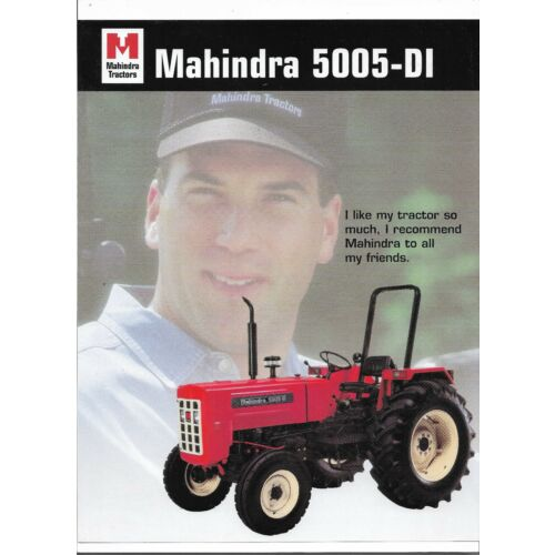 original-oem-mahindra-5005di-tractor-sales-brochure-spec-specifications-sheet