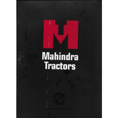 original-oem-mahindra-tractors-dealer-sales-aid-brochure-booklet-folder-magazine