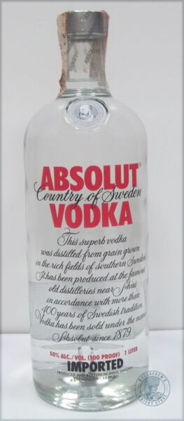 Vodka ABSOLUT - 1L (b)