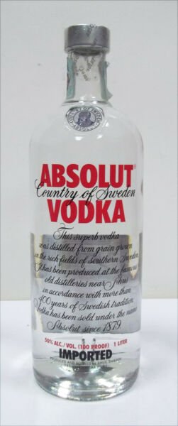 Vodka ABSOLUT - 1L (c)