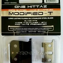 PRO-MATE ONE HITTAZ MODIFIED REPLACEMENT  BLADES Fits Andis T-Outliner, GTX.