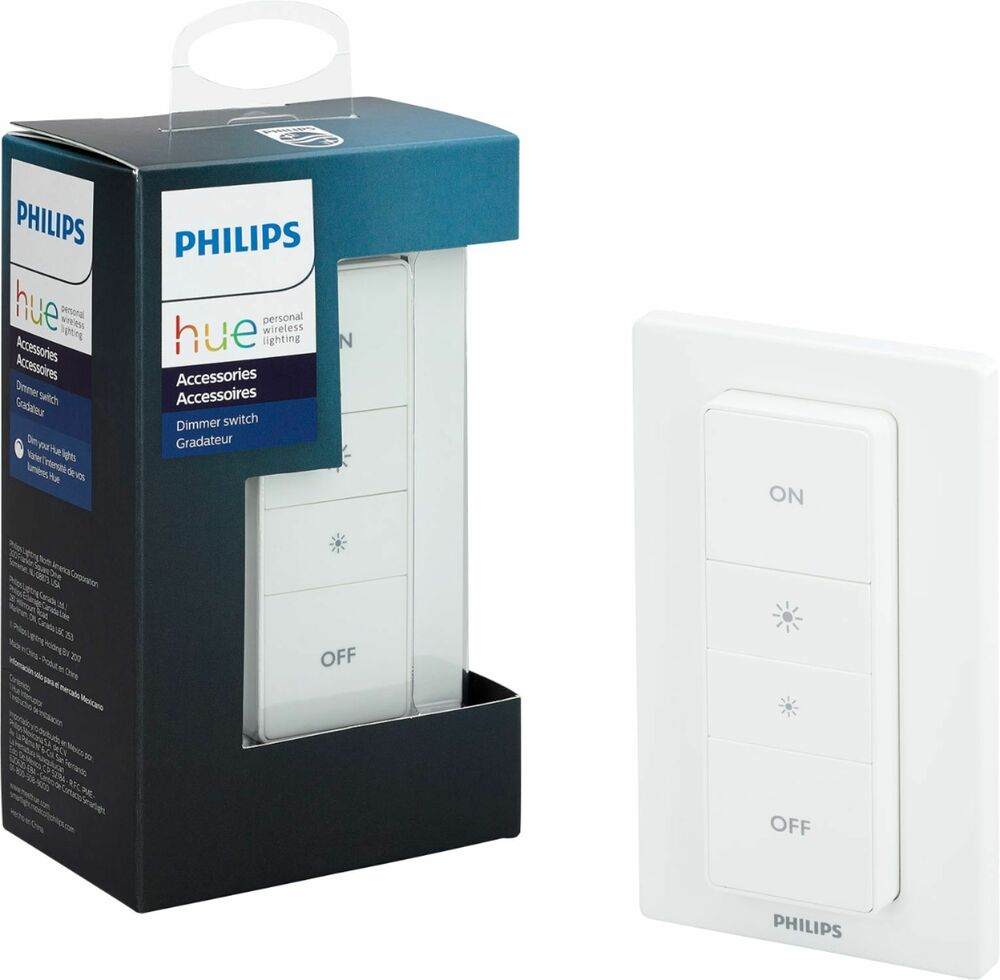 Philips Hue Wireless Dimmer Switch With Remote White