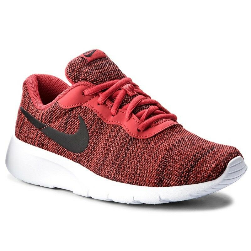 9ac5a7c910c792 Details about Nike TANJUN (GS) Youth Boys University Red Black-White  818381-602 Shoes