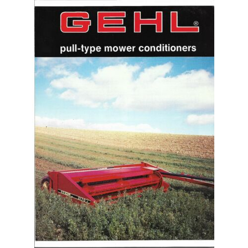 original-oem-gehl-2140-2170-pull-type-mower-conditioners-sales-brochure-446720m