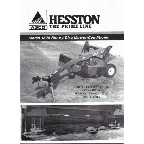 original-hesston-1320-rotary-disc-mower-conditioner-sales-brochure-705-500-013