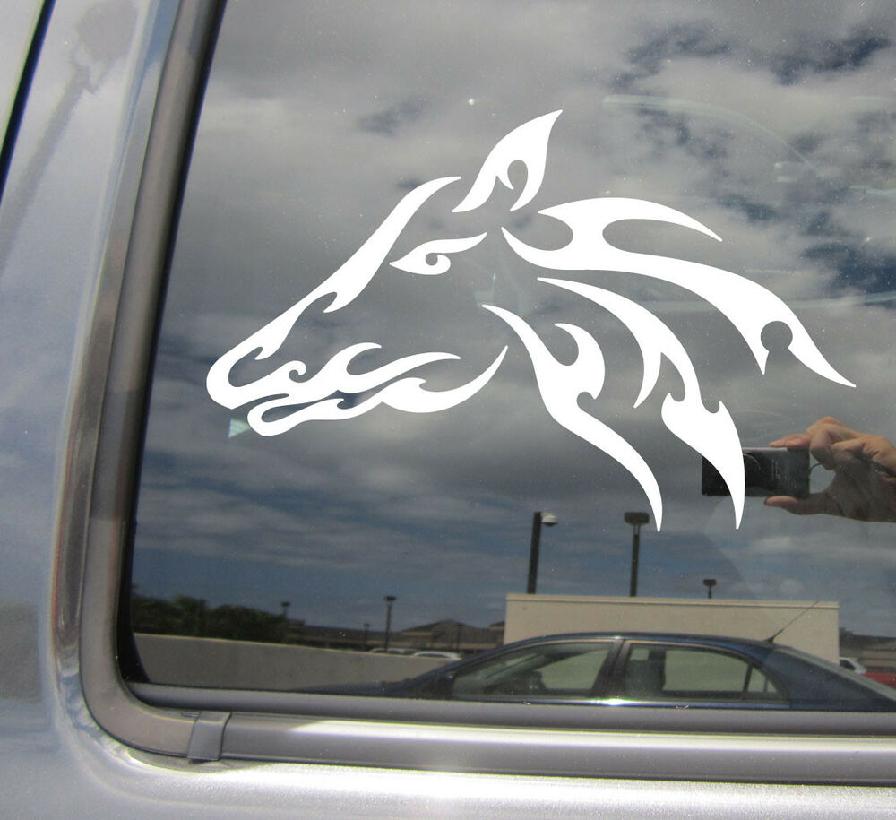 Thoroughbred Car Stickers