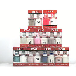 DND Nail Soak Off Gel & Polish Combo Duo Assorted Colors 585-782 You Pick