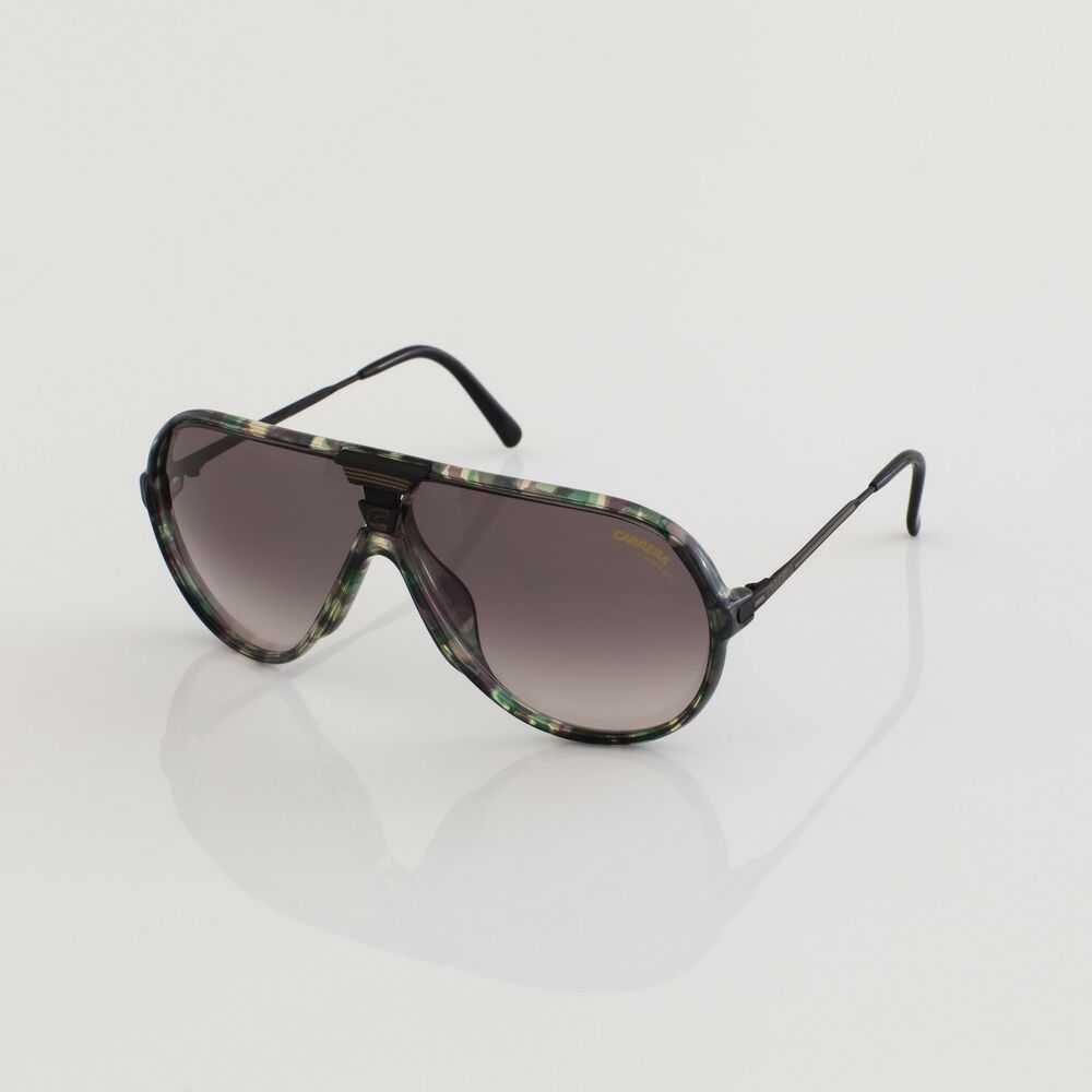 87572140f4 Details about New Vintage Carrera Sunglasses M. 5593 Aviator Sunglasses C.  26 Camouflage
