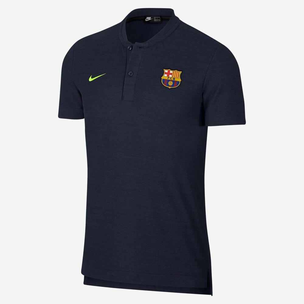 07f9f68c21f7c Details about NIKE FC BARCELONA AUTHENTIC GRAND SLAM POLO SHIRT 2018 19.