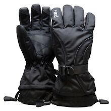 Head Junior Jr Boy's Black Insulated Ski Gloves - Size: M (6-10) & L (10-14)