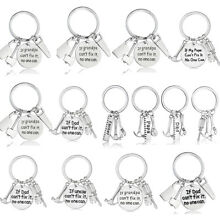 Tool Hammer Keyring Pendants Gift For Dad/Uncle/Grandpa Keychain Key Ring Chain