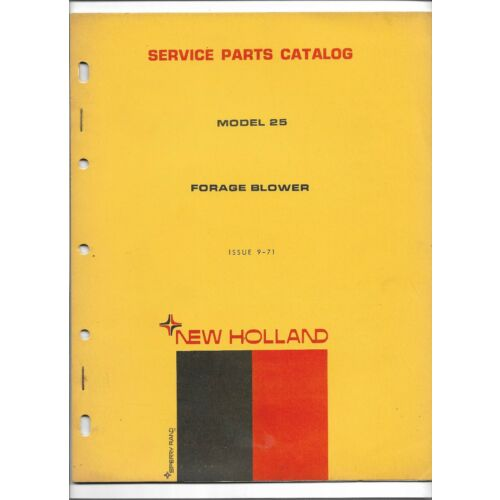 original-new-holland-model-25-forage-blower-service-parts-catalog-from-5002510