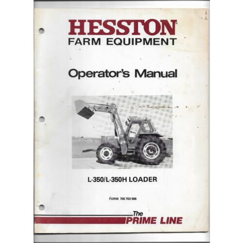 original-hesston-model-l350-l350h-loader-operators-manual-700-703-566-dec-84