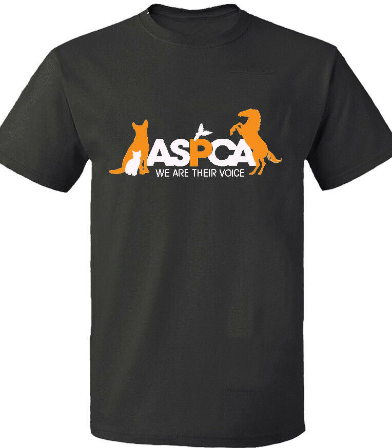 96cae9d7fe Hot New ASPCA We Are Their Voice T-shirt Black Gildan Tee Size S-2XL ...