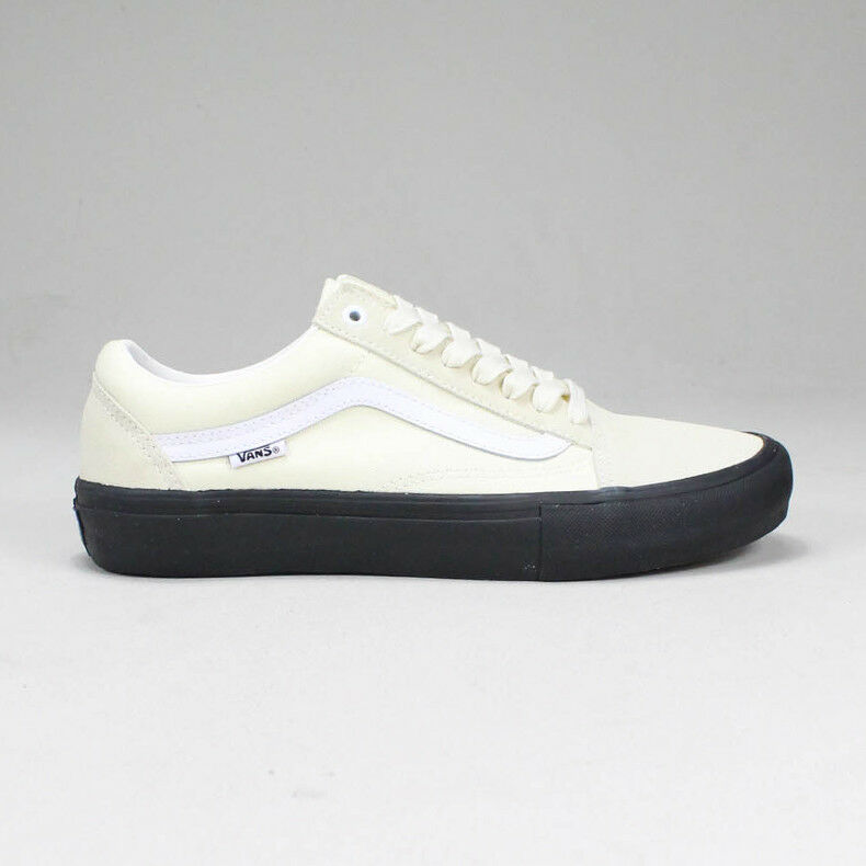 Vans Old Skool Pro Trainers Shoes Classic White Black UK Sizes 6 174462304d0