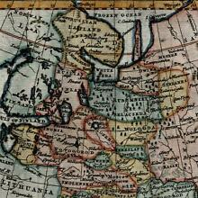 Russia Moscovy in Europe Lapland Livonia c.1785 Jefferys beautiful old map