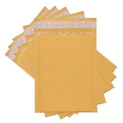 Sales4Less #2 Kraft Bubble Mailers 8.5X12 Inches Shipping Padded Envelopes Self