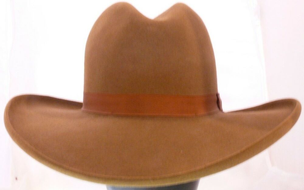 c3dcd21eb23 Details about Rand s Custom Hats Gus Gunfighter - 8X - Whiskey