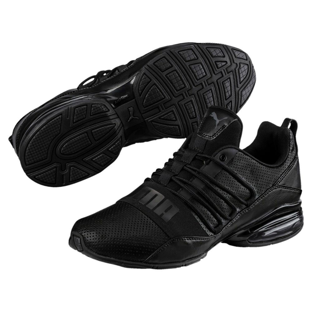 54fd5a1ab14a Details about new puma mens cell pro limit running shoes black dark shadow  190596-01 sneakers
