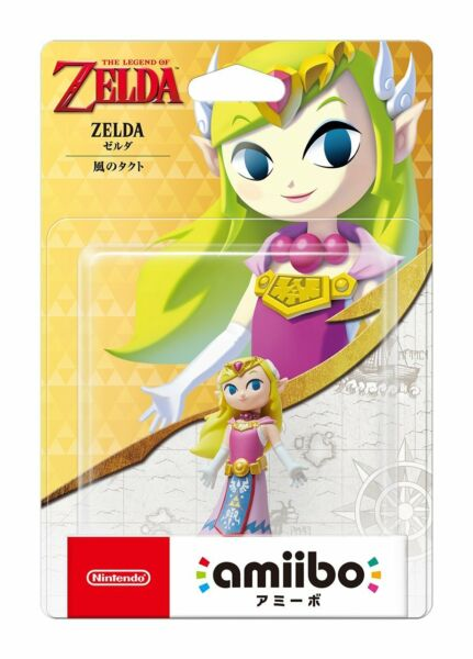 Nintendo Amiibo The Wind Waker Legend of Zelda Switch Wii U figure
