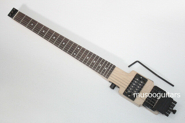 musoo brand electric travel guitar with tremolo ebay. Black Bedroom Furniture Sets. Home Design Ideas
