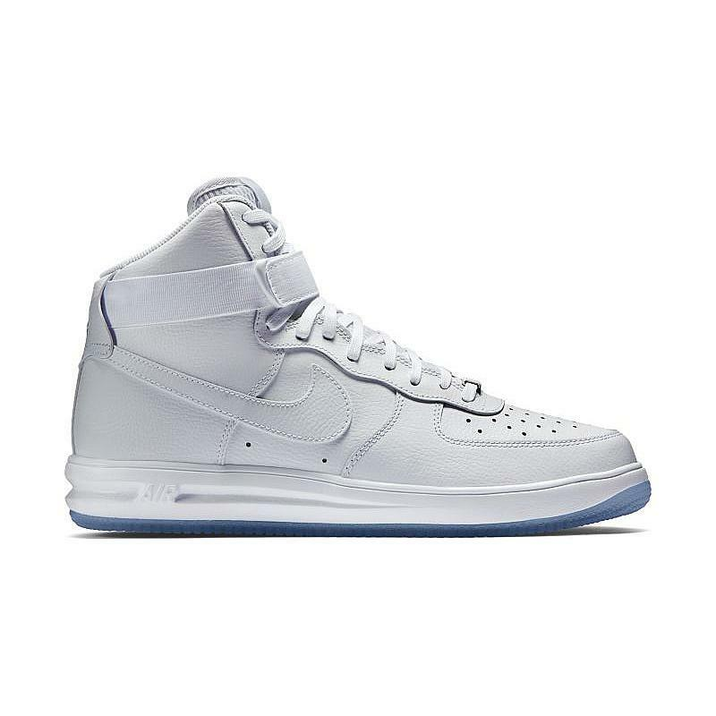 4c3ee11783e Details about NIKE LUNAR FORCE 1 HI  14 WHITE CLEAR SIZE 10 705436 100 AIR  RARE 315121-115