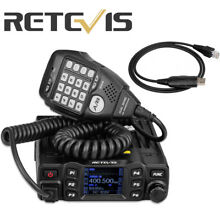 Retevis RT95 Dual Band Mobile Car Radio VHF 144-148MHz UHF TFT 430~440MHz 200CH