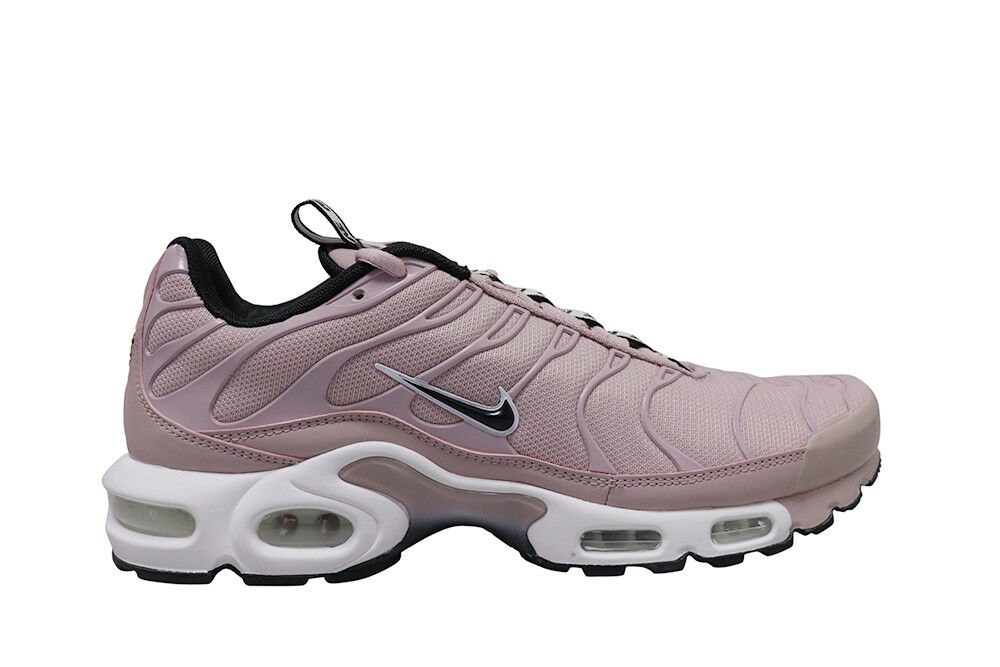dcef4c9220 Details about Mens Nike Air Max Plus TN SE - AQ4128600 - Particle Rose  Black-White
