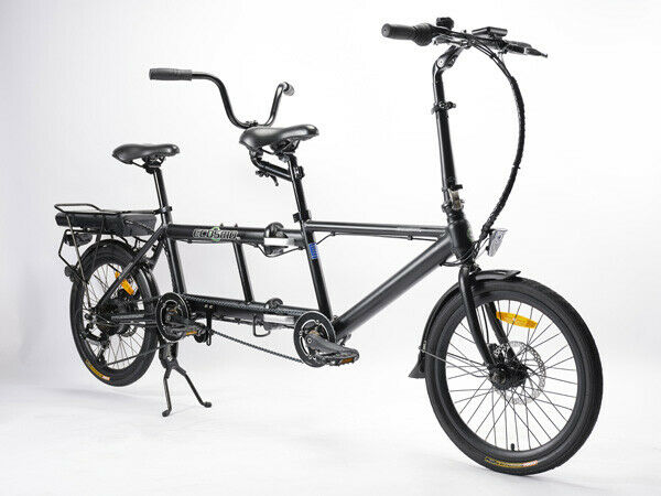 Ebike Electric Bicycle 20 Quot Alloy Tandem Folding Bike 250w