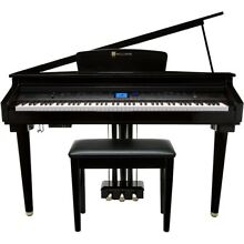 Williams Symphony Grand Digital Micro Grand Piano With Bench