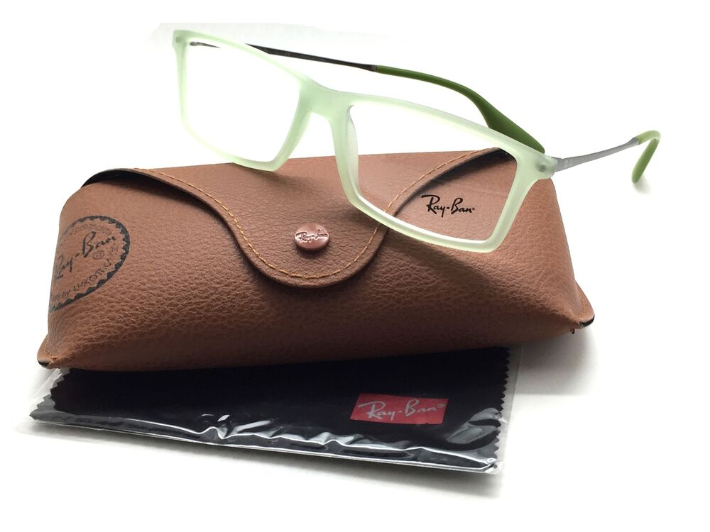 1fa4c3f903 Details about RAY BAN RX Eyeglasses New Authentic Lime Green RX7021 Matthew  5366 52 14 140