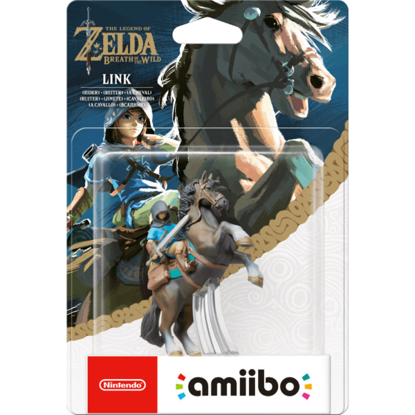 Nintendo Amiibo Legend Of Zelda Breath Wild Link Rider Switch Wii