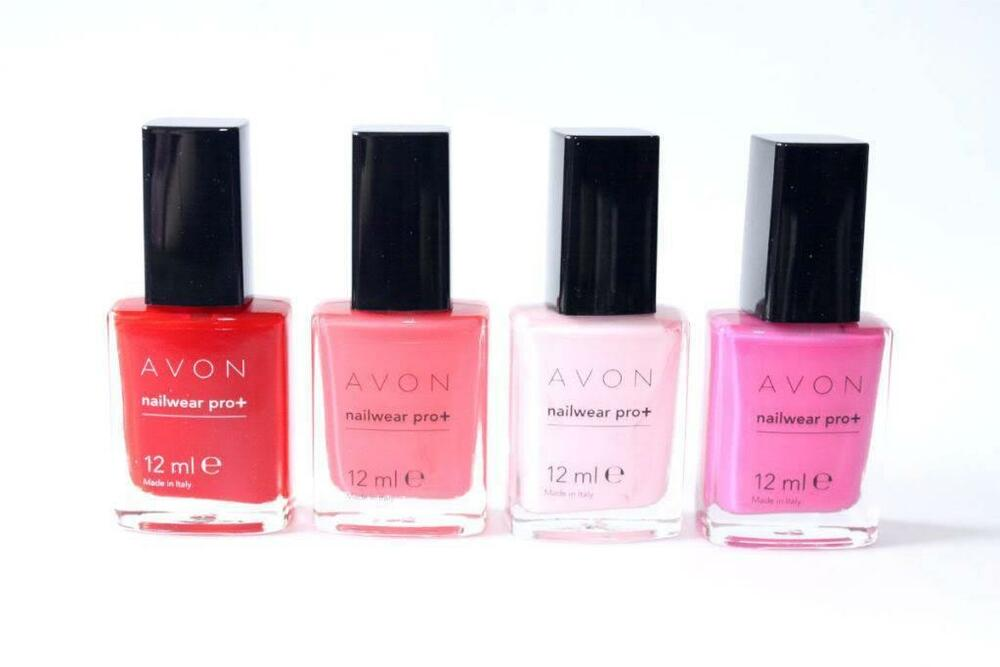 Lot Of 10 Avon Nailwear Pro Nail Polish Assorted All Different