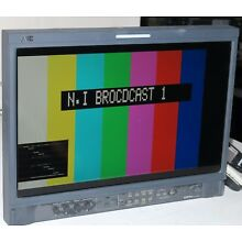 JVC 17inch dt-V17l3r HDSDI / SD LCd monitor with waveform monitor built in