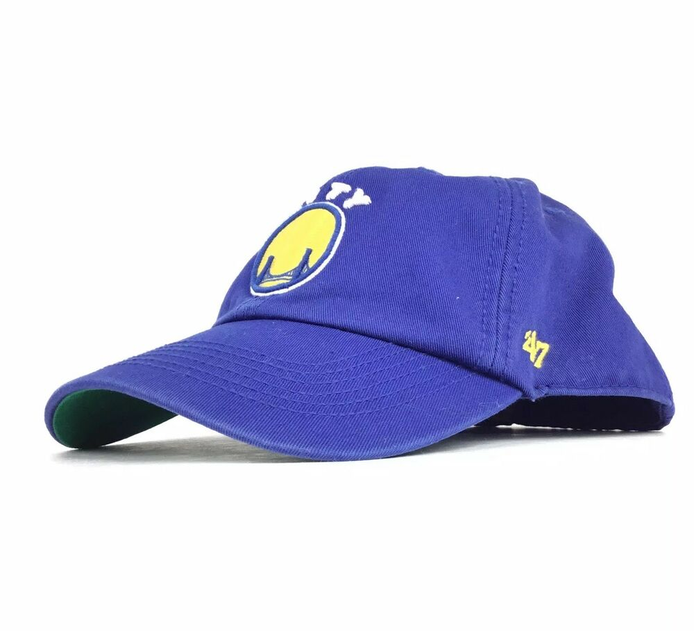 fedcb22d59 Details about NBA Golden State Warriors The City 47 Brand Baseball Cap Hat  Fitted Size Men's S