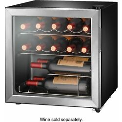 Kyпить Insignia- 14-Bottle Wine Cooler - Stainless steel на еВаy.соm