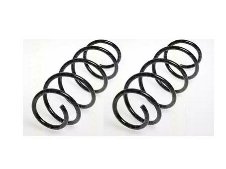 vw polo 9n 1.4 16v - pair of quality suspension coil springs front