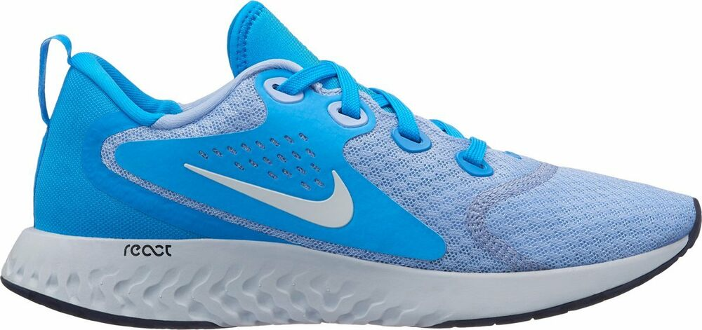 c7a14d97723c9 Details about NEW Nike Women s Legend REACT Running Shoes Blue Hero White  Gray AA1626-400
