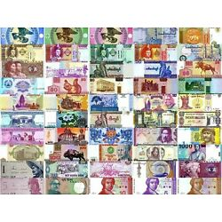 Kyпить World Currency  - Uncirculated Banknote Set - Lot of 50 на еВаy.соm