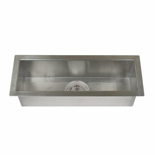 Details About Barclay TSSSB2126 SS Whitesboro Stainless Steel Trough Sink