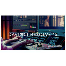 Blackmagic davinci resolve studio Fusion 15 editing color correction audio post