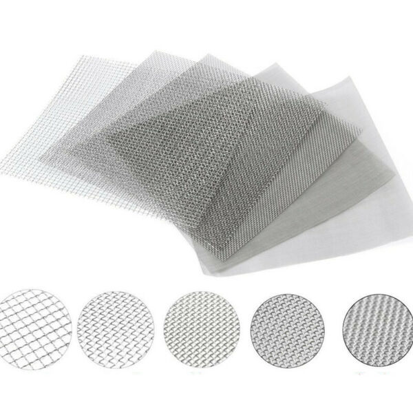 10/100/300/500 Mesh Stainless Steel Micron True Fine Screen Filtration Filter
